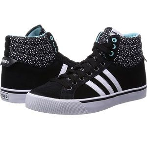 Adidas Neo Park ST Mid Hightop Leather Polka Dots